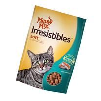 Meow Mix Irresistibles Chicken Soft Cat Treats, 6.5 oz