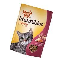 Meow Mix Irresistibles Salmon & Ocean Whitefish Crunchy Cat