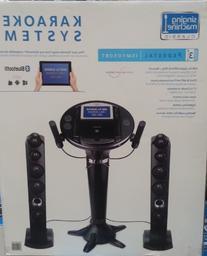 Singing Machine ISM-1050BT Bluetooth Karaoke Pedestal System