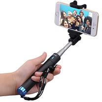 Mpow Bluetooth Selfie Stick, iSnap X Extendable Monopod with