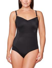 Panache Women's  Isobel One Piece Swimsuit, Black, 40 GG
