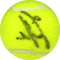 Iva Majoli Autographed / Signed Tennis Ball