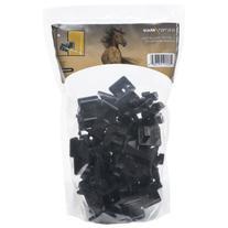 ElectroBraid IWNB-EB Slant Nail Insulator, Black