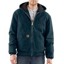 Carhartt Men's J130 Sandstone Duck Active Jacket - Quilted