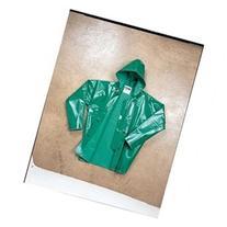 TINGLEY J41108 FR Rain Jacket with Hood, Green, L