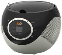 QFX J-51BK Portable AM/FM Radio CD Player - Black