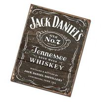 TarrKenn Jack Daniel's Weathered Logo Tin Sign