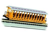 Jackson Sharp Open-Sided Excursion Cars Painted Unlettered