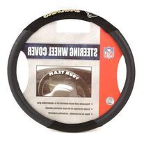 Jacksonville Jaguars Poly-Suede Steering Wheel Cover - NFL