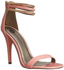 Michael Antonio Women's Jahan Dress Sandal, Peach, 6.5 M US