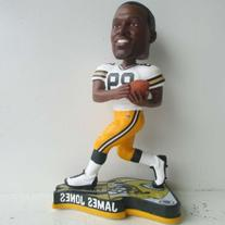 James Jones Green Bay Packers 2013 Pennant Base Bobblehead