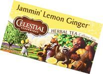 Celestial Seasonings Jammin' Lemon Ginger Herbal Tea, 20