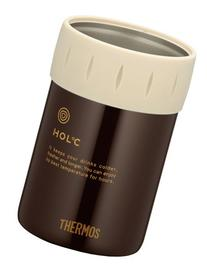 Japanese THERMOS Cold Can Holder for 350ml Brown JCB-351