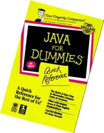 Java Api for Dummies: Quick Reference