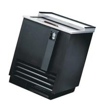 "JBC-25 25"" Black Commercial Horizontal Beer Bottle Cooler -"