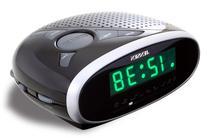 Jensen JCR-175 Desktop Clock Radio - 2 x Alarm - FM, AM