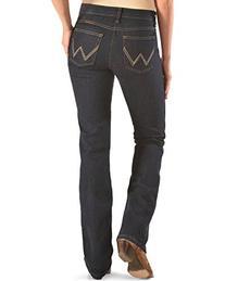 Wrangler Women's Jeans Q- Ultimate Riding Dk Dynasty 13W x