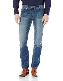 Calvin Klein Men's Straight, Authentic Blue, 31W x 30L