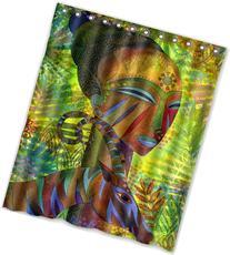 HOT design Jennifer Baird - African Queens Shower Curtain 60