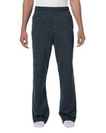 Jerzees Adult NuBlend Open-Bottom Sweatpants with Pockets