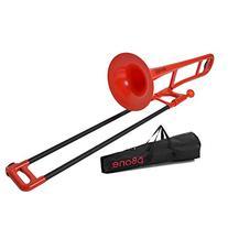 pBone PBONE1R  Jiggs Plastic Trombone - Red