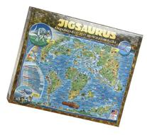 Great American Puzzle Factory Jigsaurus Map of Prehistoric