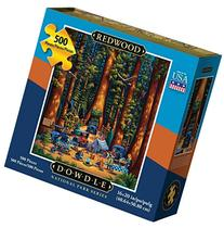 Dowdle Jigsaw Puzzle Redwood National Park 500pcs