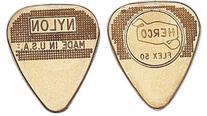 Jim Dunlop Herco Flex 12 Nylon Medium Guitar Picks - Gold