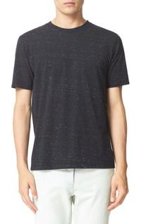 Men's A.p.c. Jimmy Spotted T-Shirt, Size Medium - Black