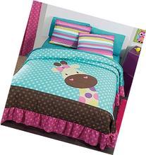 NEW Jirafa Teens Bedspread Set, Sheet Set and Window