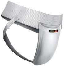 WSI Men's Joc Strap with Cup, White, X-Large