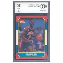 1986-87 fleer #27 JOE DUMARS rc rookie card BGS BCCG 10