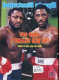 Joe and Marvis Frazier Unsigned Sports Illustrated Magazine