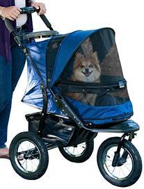 Pet Gear No-Zip Jogger Pet Stroller, with Zipperless Entry,