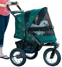 Pet Gear No-Zip Jogger Pet Stroller for Cats/Dogs,