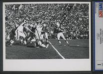 Johnny Unitas in Action Against the Fearsome Foursome of the