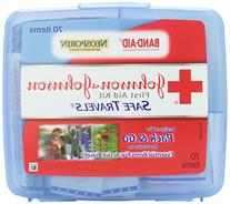 Johnson & Johnson® BAND-AID® Safe TravelsTM First Aid Kit