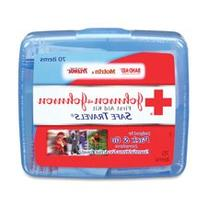 Johnson and Johnson Red Cross Portable Travel First Aid Kit
