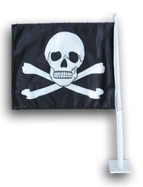 Jolly Roger - Car flag