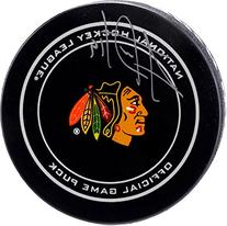 Jonathan Toews Chicago Blackhawks Autographed Official Game