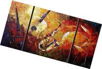Santin Art-Joni Jazz Modern Canvas Art Wall Decor Abstract