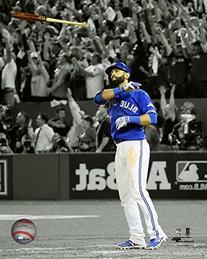 Jose Bautista Toronto Blue Jays 2015 ALDS Game 5 HR Photo