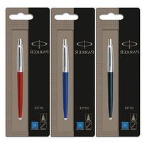 Parker Jotter 3 Colours - 1 Black + 1 Blue + 1 Red Ballpoint