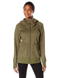 Burton Journey Fleece Jacket - Women's Olive Night Heather,