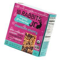 18 Rabbits Jr. Organic Gluten Free Granola Bar, Chocolate