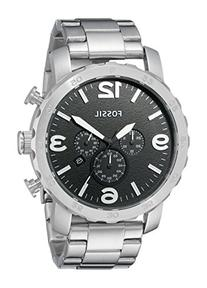 FOSSIL JR1353 Nate Chronograph Stainless Steel Watch