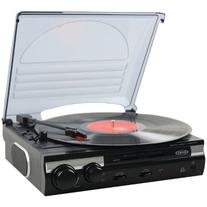 Jensen JTA-230 3 Speed Stereo Turntable with Built in