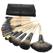 Bestrice Professional 24 Pcs Natural Goat and Badger