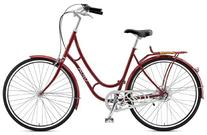 Viva Juliett 3 City Bike, 28 inch Wheels, Women's Bike, Red