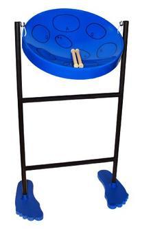 Jumbie Jam Steel Drum Musical Instrument, Blue